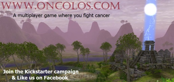 A multiplayer game where you fight cancer
